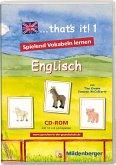 that's it! 1 - Lernsoftware zum Erlernen des englischen Wortschatzes