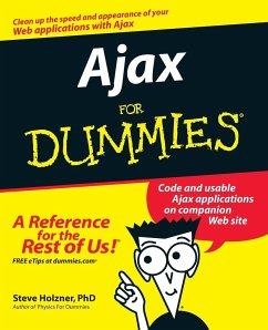 Ajax For Dummies - Holzner, Steve