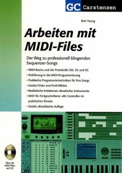 Arbeiten mit MIDI-Files, m. CD-ROM