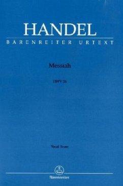 Der Messias HWV 56 (englisch), Klavierauszug\Messiah, Vocal score - Händel, Georg Friedrich