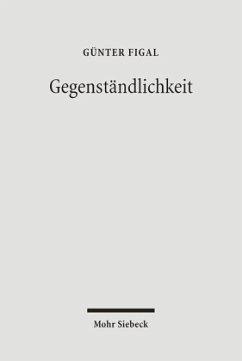 Gegenständlichkeit - Figal, Günter
