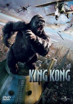 King Kong, 1 DVD - Naomi Watts,Adrien Brody,Jack Black