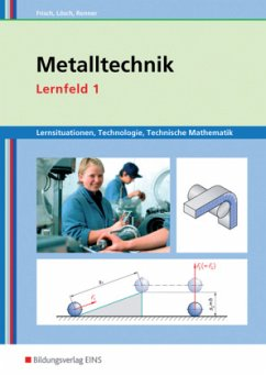 Metalltechnik Lernsituationen, Technologie, Technische Mathematik. Lernfeld 1: Lernsituationen
