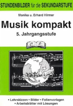 Musik kompakt. 5. Jahrgangsstufe - Hirmer, Monika; Hirmer, Erhard