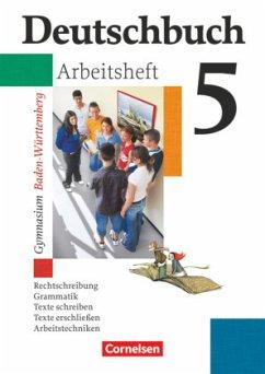 Deutschbuch Gymnasium 05. 9. Schuljahr. Arbeits...