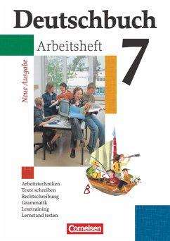 Deutschbuch Gymnasium 7. Schuljahr. Arbeitsheft mit Lösungen. Allgemeine Ausgabe. Neubearbeitung - Diehm, Jan;Grunow, Cordula