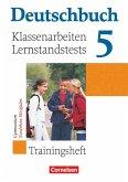 Deutschbuch Gymnasium 5. Schuljahr. Klassenarbeitstrainer mit Lösungen. Nordrhein-Westfalen