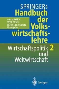 Springers Handbuch der Volkswirtschaftslehre 2 - Hagen