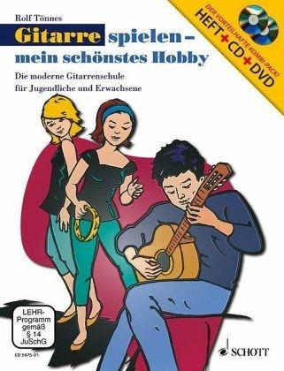gitarre spielen mein sch nstes hobby m audio cd u dvd. Black Bedroom Furniture Sets. Home Design Ideas