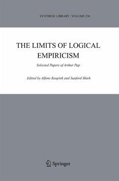 The Limits of Logical Empiricism - Keupink, Alfons / Shieh, Sanford (eds.)