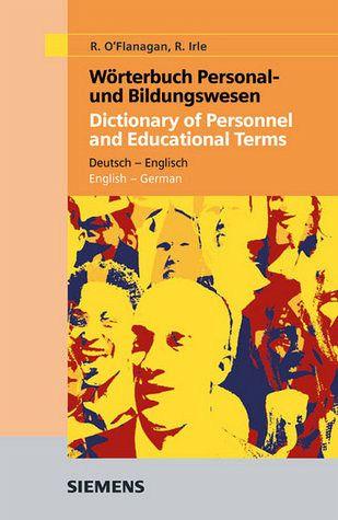 W rterbuch personal und bildungswesen deutsch englisch for Dictionary englisch deutsch