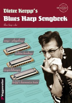 Dieter Kropp's Blues Harp Songbook, m. Audio-CD - Kropp, Dieter