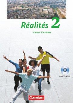 Réalités 2. Nouvelle Édition. Carnet d'activités mit CD-ROM - Schenk, Sylvie / Héloury, Michèle / Jorißen, Catherine