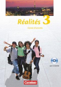 Realites 3. Nouvelle Edition. Carnet d'activités mit CD-ROM - Jorißen, Catherine / Mann-Grabowski, Catherine