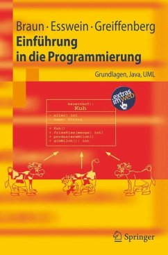 Einführung in die Programmierung - Braun, Robert; Esswein, Werner; Greiffenberg, Steffen
