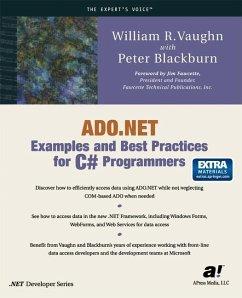 ADO.NET Examples and Best Practices for C# Programmers - Vaughn, William R.; Blackburn, Peter
