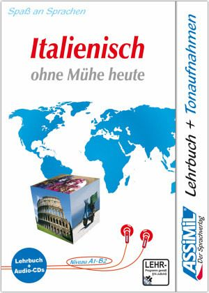 lehrbuch und 4 audio cds assimil italienisch ohne m he heute schulbuch. Black Bedroom Furniture Sets. Home Design Ideas