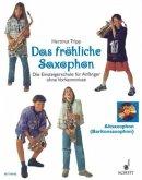 Das fröhliche Saxophon, Altsaxophon (Baritonsaxophon), m. Audio-CD