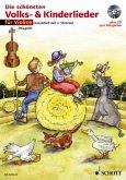 Für 1-2 Violinen, m. Audio-CD / Die schönsten Volks- & Kinderlieder, Notenausg. m. Play-Along-CDs