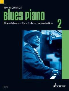 Blues Piano - Richards, Tim