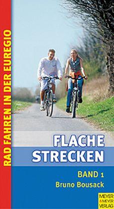 Rad fahren auf flachen Strecken der Euregio 1