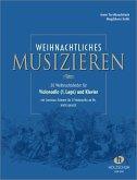 Weihnachtliches Musizieren, Violoncello (1. Lage) und Klavier