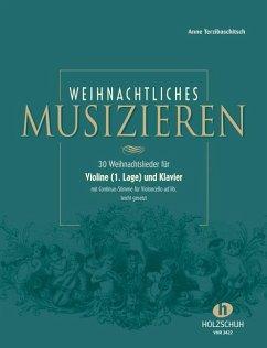 Weihnachtliches Musizieren, Violine (1. Lage) und Klavier