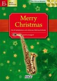 Merry Christmas, für Altsax / Baritonsax, m. 2 Audio-CDs