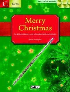 Merry Christmas, Für Querflöte / Oboe, m. 2 Audio-CDs