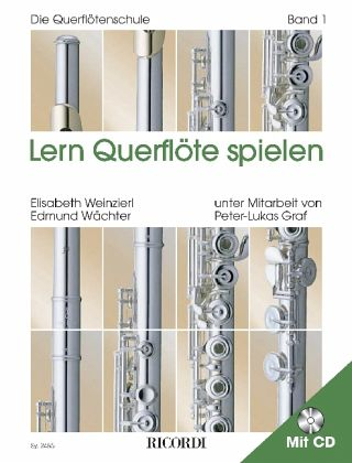 Flöte Spielen F m CD WEINZIERL WÄCHTER Querflötenschule Querflöte Noten Schule