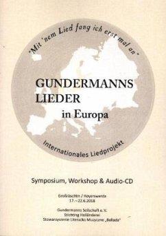 Gundermanns Lieder in Europa - Gundermanns Seilschaft e. V., BUCH mit CD