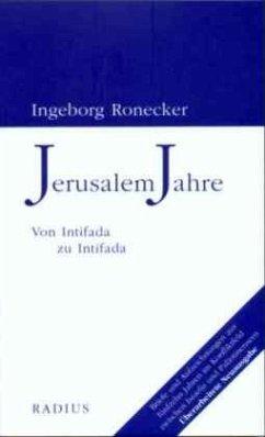 Jerusalem Jahre