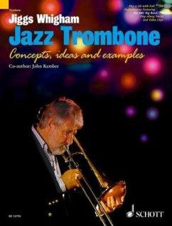 Jiggs Whigham, Jazz Trombone, w. mixed mode-CD - Whigham, Jiggs