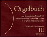 Orgelbuch zum Evangelischen Gesangbuch, separater Regionalteil Rheinland, Westfalen, Lippe, Evangelisch reformierte Kirc