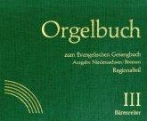 Orgelbuch zum Evangelischen Gesangbuch, separater Regionalteil Niedersachsen, Bremen