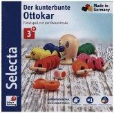 Selecta 63006 - Der kunterbunte Ottokar, Würfel- und Fädelspiel, Lernspiel