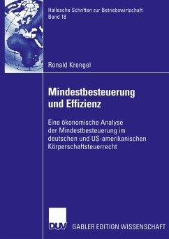 Mindestbesteuerung und Effizienz - Krengel, Ronald