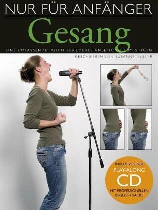 Nur für Anfänger, Gesang, m. Audio-CD
