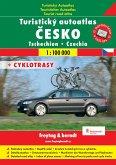Touristischer Autoatlas Tschechien; Turisticky autoatlas Cesko; Tourist Road Atlas Czechia