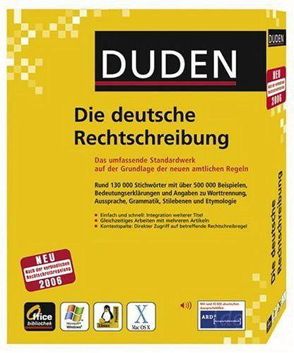 duden die deutsche rechtschreibung 24 auflage pc mac linux pc mac software portofrei. Black Bedroom Furniture Sets. Home Design Ideas