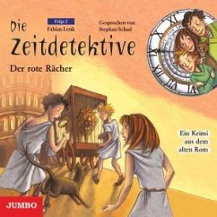 Der rote Rächer / Die Zeitdetektive Bd.2 (CD) - Lenk, Fabian