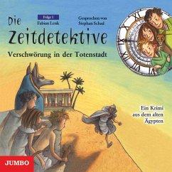 Verschwörung in der Totenstadt / Die Zeitdetektive Bd.1 (CD)