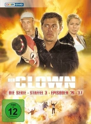 Der Clown - Die Serie Staffel 3 3 DVDs