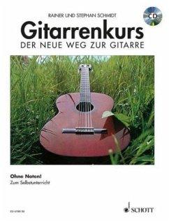 Gitarrenkurs, Der neue Weg zur Gitarre, m. Audio-CD