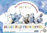 Der Blockflötenspatz, m. Audio-CD