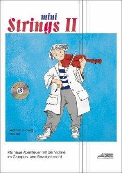 Mini Strings 2 (mit Begleit-CD) - Merkle, Werner