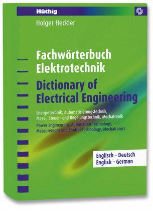 Fachw rterbuch elektrotechnik englisch deutschdictionary for Dictionary englisch deutsch