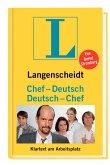 Langenscheidt Chef-Deutsch / Deutsch-Chef