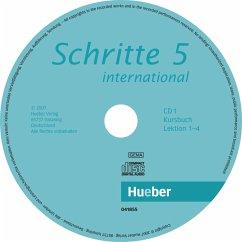 2 Audio-CDs zum Kursbuch / Schritte internation...