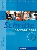 Schritte international 3. Kursbuch + Arbeitsbuch mit Audio-CD zum Arbeitsbuch und interaktiven Übungen
